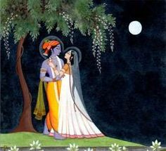 'Krishna enchants the whole world, but Srimati Radhika enchants even Him. Therefore, Radha is the Supreme Goddess.'