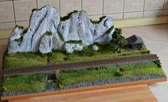 Another episode of the relationship with the construction of the railway dioramas...