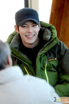 Kim woo bin. No matter how down I am, this boy's smile cheers me right up again :)