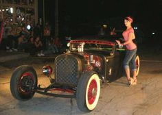Rat Rod and pin up girl