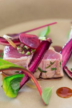 A simple recipe for bonito, bursting with fresh flavours from Italian chef, Adrea Sarri. Recipes With Soy Sauce, Beer Recipes, Seafood Recipes, Appetizer Recipes, Appetizers, Chicken Satay Skewers, Candied Lemon Peel, Healthy Foods