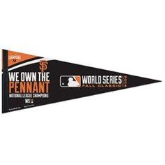 "WinCraft San Francisco Giants 2014 MLB National League Champions 12"" x 30"" Premium Quality Pennant"