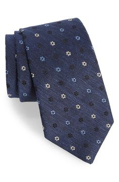 Gitman Medallion Silk Blend Tie Cravatte 7026d2c14bd