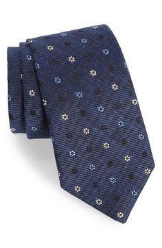 Gitman Medallion Silk Blend Tie