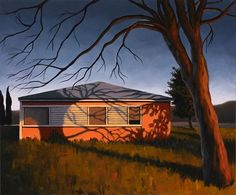 Susan Bennerstrom. Soap Lake, 2011. Oil on canvas. 19.5 x 23.5 inches. SOLD