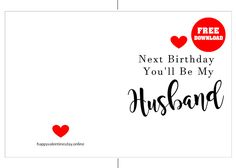 FREE Printable Anniversary Cards images Templates 💖 Free Printable Anniversary Cards, Happy Wedding Anniversary Cards, Fiance Birthday Card, Cute Anniversary Gifts, Anniversary Cards For Boyfriend, Birthday Cards For Boyfriend, Birthday Cards For Boys, Anniversary Funny, Funny Birthday Cards
