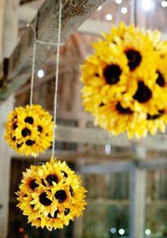 Sunflower Balls, Love Them!