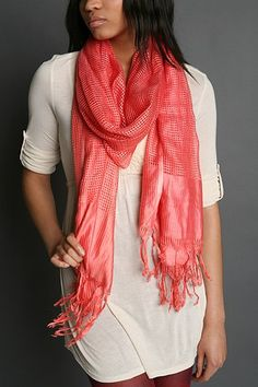 Scarf Posted on PassionBird Blog