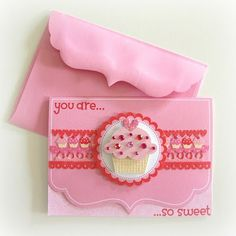 Sweet Cakes and your chance to win... by Melinda Spinks @ The Scrap Farm - love this card based on a PageMaps Sketch