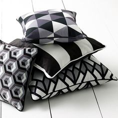 Monochrome Fabric Collection (source Warwick) Fabric Wallpaper Australia / The Ivory Tower - fabric & wallpaper / www.fabricwallpaperaustralia.com.au