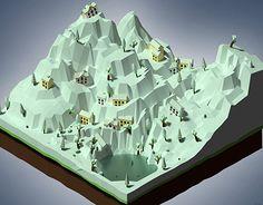 Isometric perspective - Ice ageCreated on with Blender Asset - Game Development 3d Assets, Blender 3d, Ice Age, Artwork, Work Of Art, Auguste Rodin Artwork, Artworks, Illustrators