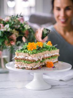Cake Sandwich, Sandwiches, Good Food, Yummy Food, Savoury Baking, Food Inspiration, Feta, Tapas, Kitchens