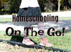 Homeschooling on the Go - Apron Strings & other things