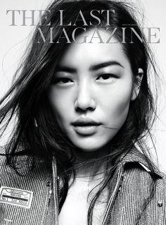 Model: Liu Wen (Marilyn)  Magazine: The Last Magazine, Spring/Summer 2013  Photographer: Amy Troost  Stylist: Alastair McKimm  Hair: Esther Langham  Makeup: Yadim  Manicure: Honey    http://1.bp.blogspot.com/-7mmQcr7syX0/UU-Q7SBnYqI/AAAAAAAAig4/FlxS1_fOkDc/s1600/Liu+Wen+-+The+Last+Magazine+Spring+Summer+2013.jpg