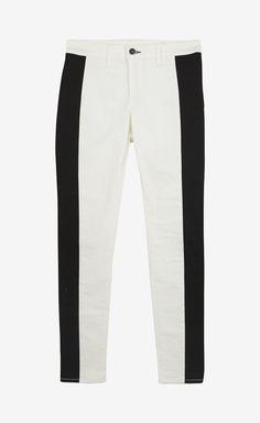 Rag  Bone Jean Black and White Pant