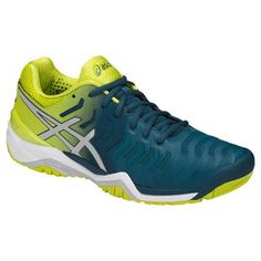 b21408d0766 Asics Gel Resolution 7 Mens Tennis Shoe - Ink Blue/Sulphur Springs/White