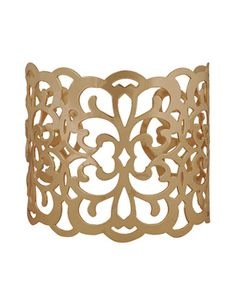 Cutout Damask Cuff  $4.80 at Forever 21