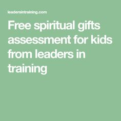 image relating to Free Printable Spiritual Gifts Test named Non secular Presents