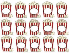 Popcorn Pencil Toppers go great with my back to school theme, A Popcorn Welcome. This freebie is surely to be loved by your students. by carlani Popcorn Theme Classroom, Circus Theme Classroom, Movie Classroom, Kindergarten Bulletin Boards, Preschool Classroom, Deco Theme Cinema, Hollywood Theme Classroom, Grande Section, Carnival Themes