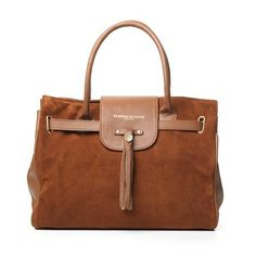 Fairfax and Favor Windsor Bag in Tan available from A Hume £345