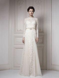 Lovely modest wedding dress