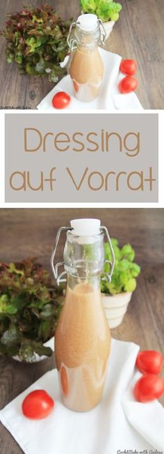 C&B with Andrea - Dressing auf Vorrat - Salat - www.candbwithandrea.com - Collage