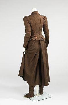 Cycling suit 1890s