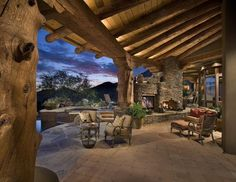 A fantastic example of how to blend design with the outdoors. Comfort & luxury right in your own backyard - what could be better? If looking to update your yard, check out Phantom Screens products at http://www.phantomscreens.com: our website is a great resource on outdoor living and design ideas!