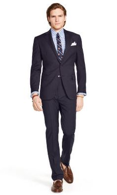 Bedford Pinstriped Wool Suit - Polo Ralph Lauren Polo Ralph Lauren - RalphLauren.com