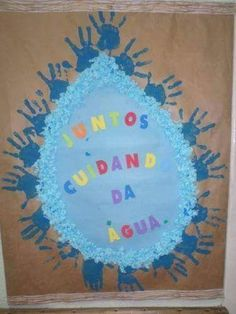 Professora Tati Simões: 22 ideias para o Dia Mundial da Água Spring Bulletin Boards, Classroom Board, Spring Crafts For Kids, Daycare Crafts, Autumn Trees, Diy And Crafts, Preschool, Activities, Education