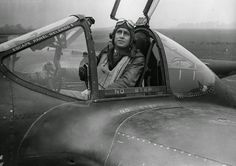 Jack S. JENKINS, the CO of the 55th Fighter Group, sits in cockpit of his Lightning at Nuthampstead air base in October 1943. Jack Jenkins was credited with the first Lightning victory in the 8th Air Force. He added one more confirmed, one probable and one damaged before he was shot down and taken as POW on 10 April 1944. Roger Freeman Collection (FRE 145)