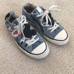 63fc5cf93e91 Extra Off Coupon So Cheap Zara Girls Disney Collection Denim Sneakers Size