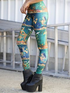 The Nile Leggings (WW ONLY – 24HR $75AUD) by Black Milk Clothing