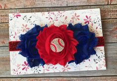 Chicago Cubs Headband/Baseball Headband/Headband/Cubs/Baseball/Cubs Headband/Cubs Baseball/Baby Headband/Newborn Headband/Baby Girl Headband by JuliaGraceDesigns1 on Etsy