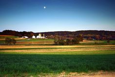 Lush farmland in Quarryville, PA