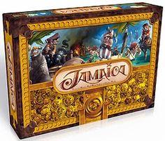 Jamaïca : Les joueurs sont des pirates qui s'affrontent lors d'une Chasse au Trésor. Chacun a son bateau et ses cales, doit faire le tour de l'île le plus rapidement possible en gérant ses ressources (galions et nourriture). Les trésors sont cachés dans des grottes, mais attentions aux attaques des autres pirates : n'oubliez pas de vous équiper en boulets de canons ! A partir de 8 ans.