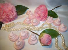 Hey, I found this really awesome Etsy listing at https://www.etsy.com/listing/89549443/36-rose-meringues-perfect-for-weddings