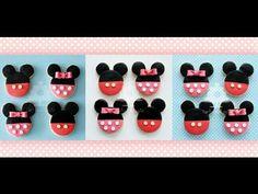Tartas, Galletas Decoradas y Cupcakes: Miska Mouska Mickey Mouse! Mimi Y Mickey, Mickey E Minnie Mouse, Baby Boy Birthday, Boy Birthday Parties, 4th Birthday, Birthday Ideas, Cupcake Toppers, Cupcake Cakes, Royal Icing Flowers