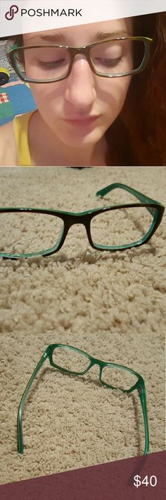 GUESS glass frames Cute prescription glass frames by guess. No ...