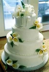 calla lily wedding cake - Bing Images
