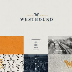 Direction 1: In our design process we create several faces of a brand to not only understand the project better but to help our clients feel confident about an identity for their company. For @westbounddtla we employed rich tones and a contemporary artist's feel with a nod toward its location's railway history La Grande Station in DTLA's Arts District. Which direction is your favorite?  #projectmplus #designtogether #westbound #dtla #eat #drink #artsdistrict by projectmplus