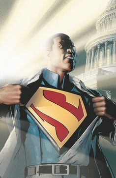 Action Comics 9. Grant Morrison's Superman of Earth 23, Calvin Ellis (a play on the name Kal-El). And to top it off, this Superman is president! I loved the read.
