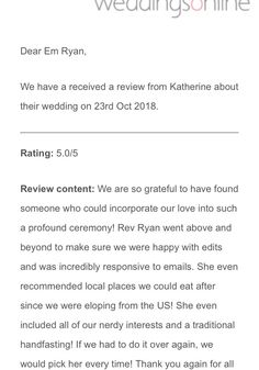 Happy to share my latest review from a stunningly romantic couple over from America. Congrats K & T on your handfasting! So happy to have helped you tie the knot at a sacred site. 🙏🏼💓🍀 Handfasting, The Rev, Find Someone Who, Above And Beyond, Romantic Couples, Tie The Knots, America, Happy, Tying The Knots