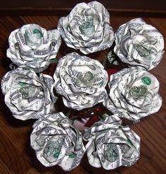 money rose bouquet - Google Search