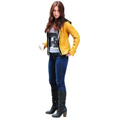 How to make your own April O'Neil costume from Teenage Mutant Ninja Turtles. Portrayed by Megan Fox both the schoolgirl uniform and yellow jacket costume Teenage Mutant Ninja Turtles Fancy Dress, Ninja Turtles Movie, April O Neil Costume, Turtle Costumes, April O'neil, Black Denim Jeans, Movie Costumes, Character Outfits, Tmnt