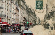 Rue Lepic, dans le 18e arrondissement (Crédit Image : Golem 13)