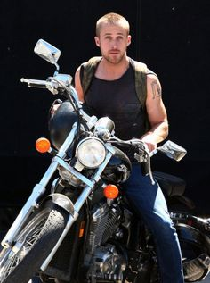 Holy mother of God. I have never seen anything more beautiful than a pretty man with tattoos on a motorcycle. Damn.