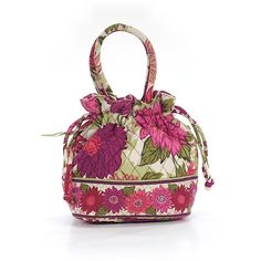 Pre-owned Vera Bradley Tote: Pink Women's Bags ($34) ❤ liked on Polyvore featuring bags, handbags, tote bags, pink, tote handbags, vera bradley tote, hand bags, pink tote and vera bradley tote bags