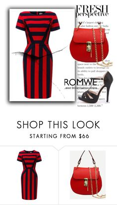 """Romwe IV/4"" by a-camdzic ❤ liked on Polyvore"
