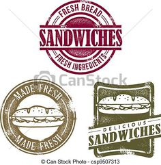 sandwich shop logo ideas